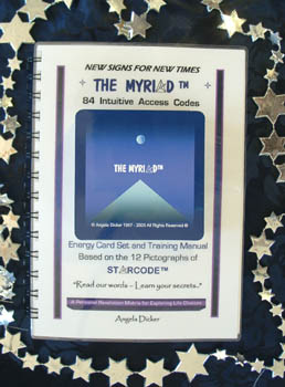 Angela Dickers original Australian products - Starcode tm and The MYRIAD tm