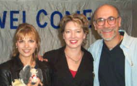Teryl Rothery, Tony Amendola & Angela with Starcode and The Myriad Intuitive Card Deck based on Starcode Symbols